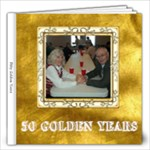 50th Anniversary 12x12 Album - 12x12 Photo Book (20 pages)