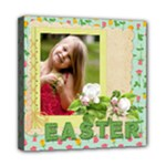happy easter - Mini Canvas 8  x 8  (Stretched)