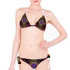 Hot Radiant Fractal Celtic Knot Bikini