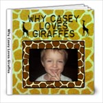 Kid s Giraffe book, 8x8 - 8x8 Photo Book (20 pages)