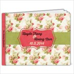 Wedding book - 7x5 Photo Book (20 pages)