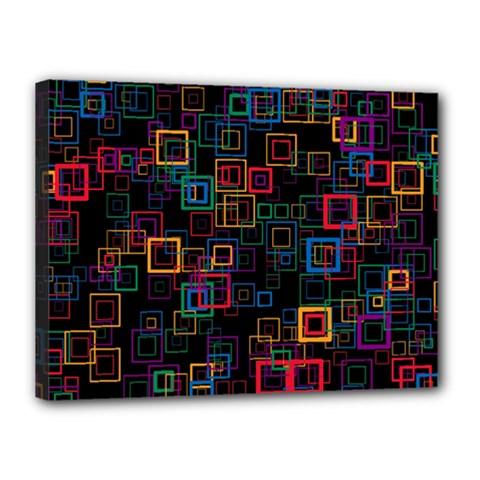 Retro Canvas 16  X 12  (framed) by Siebenhuehner