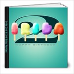 irida 2 3 bday party - 8x8 Photo Book (20 pages)