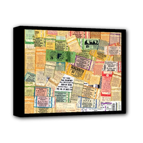 Retro Concert Tickets Deluxe Canvas 14  X 11  (framed) by StuffOrSomething
