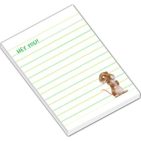 Hey You! By J M  Raymond   Large Memo Pads   W24erteik2r7   Www Artscow Com