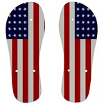 US Flag - Men s Flip Flops