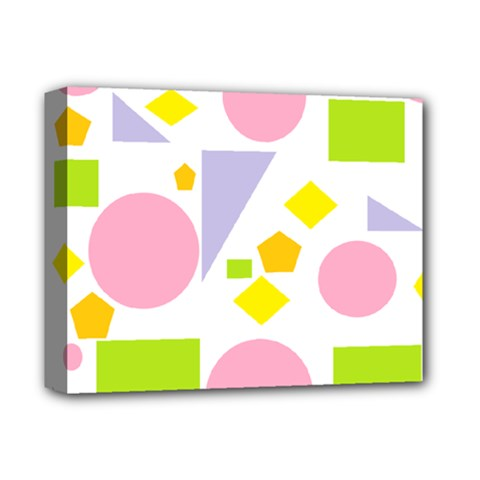 Spring Geometrics Deluxe Canvas 14  X 11  (framed) by StuffOrSomething