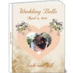 Wedding delux 9x12 photo book - 9x12 Deluxe Photo Book (20 pages)