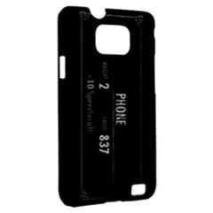 Samsung Galaxy S II i9100 Hardshell Case (PC+Silicone)