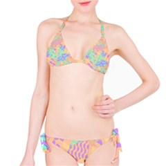 Tropical Summer Fruit Orange Lime Berry Bikini Set by CrypticFragmentsColors