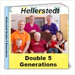 5 Generations book - 8x8 Photo Book (20 pages)