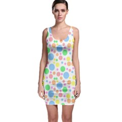 Pastel Polka Dots Bodycon Dress by StuffOrSomething