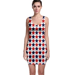 Patriotic Stars Bodycon Dress by StuffOrSomething