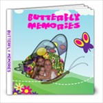 Butterfly Memories 8X8 album  - 8x8 Photo Book (20 pages)