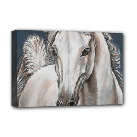 Breeze Deluxe Canvas 18  x 12  (Framed) by TonyaButcher