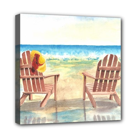 Time To Relax Mini Canvas 8  X 8  (framed) by TonyaButcher