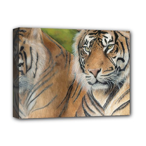 Soft Protection Deluxe Canvas 16  X 12  (framed)  by TonyaButcher