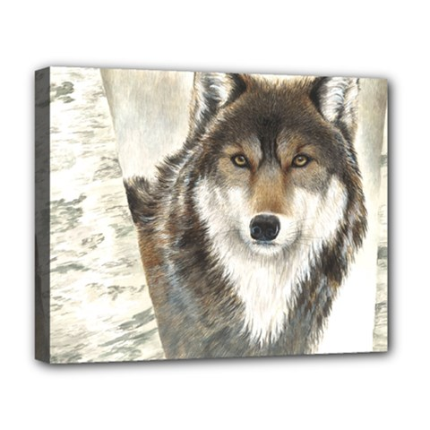 Hunter Deluxe Canvas 20  X 16  (framed) by TonyaButcher