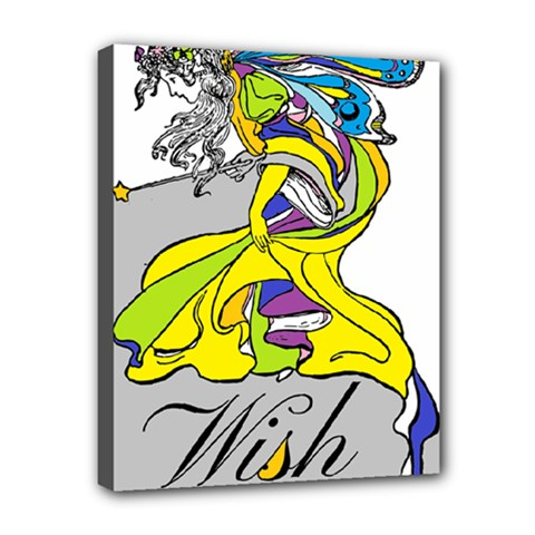 Faerie Wish Canvas 10  X 8  (framed) by StuffOrSomething