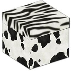 Animal Print Storage Stool 12  by Lalita