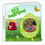 Happy Spring 8x8 photo book - 8x8 Photo Book (20 pages)