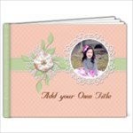 11 x 8.5 : Sweet Memories - 11 x 8.5 Photo Book(20 pages)