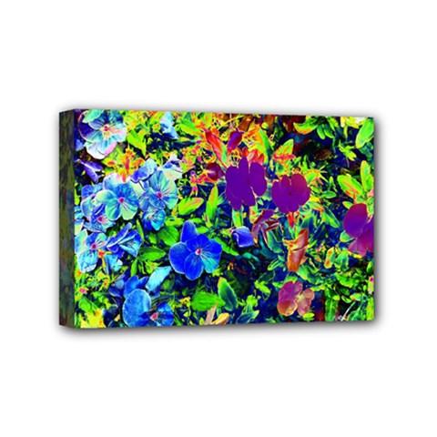 The Neon Garden Mini Canvas 6  X 4  (framed)