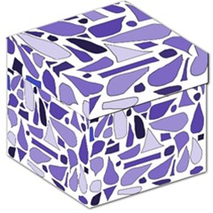 Silly Purples Storage Stool 12  by FunWithFibro