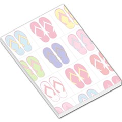 Flip-Flop Collage Large Memo Pad by StuffOrSomething