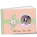 9x7 Deluxe : Sweet Memories - 9x7 Deluxe Photo Book (20 pages)