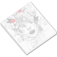 Flower Child Small Memo Pad by StuffOrSomething