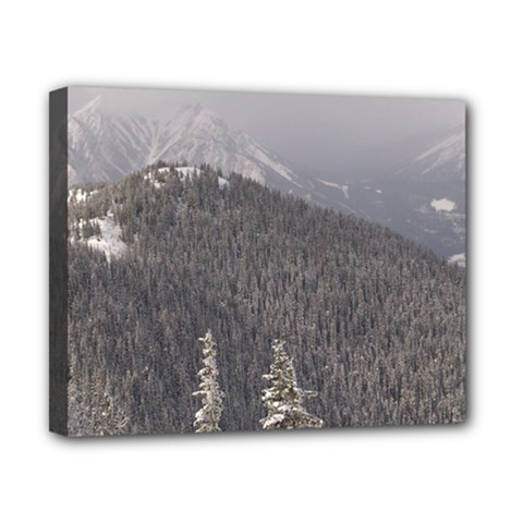 Mountains Canvas 10  X 8  (framed) by DmitrysTravels