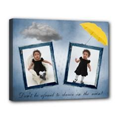 rain canvas 14x11 - Canvas 14  x 11  (Stretched)