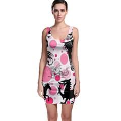 Pink Fantasy Bodycon Dress by StuffOrSomething