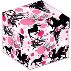 Fantasy In Pink Storage Stool 12  by StuffOrSomething