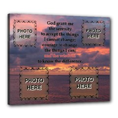 Serenity Prayer 24x20 stretched canvas - Canvas 24  x 20  (Stretched)