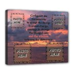 Serenity Prayer 24X20 delux canvas - Deluxe Canvas 24  x 20  (Stretched)