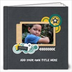 12x12 : Boys will be Boys (Multi-Frames) - 12x12 Photo Book (20 pages)