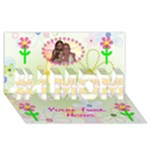 #1 Mom card 3 - #1 MOM 3D Greeting Cards (8x4)