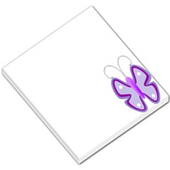 Cute Awareness Butterfly Small Memo Pad by FunWithFibro