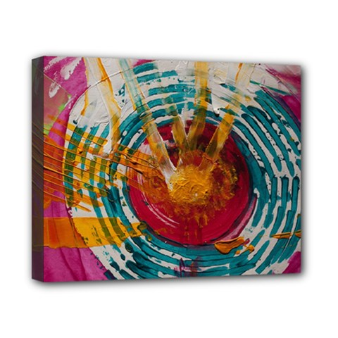 Art Therapy Canvas 10  X 8  (framed) by StuffOrSomething