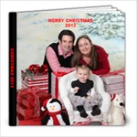CHRISTMAS 2013 - 8x8 Photo Book (20 pages)
