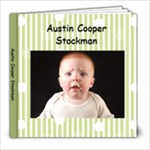 austin 6 months - 8x8 Photo Book (20 pages)