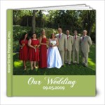 Our Wedding 2009 - 8x8 Photo Book (20 pages)