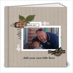 8x8: Greatest Dad! - 8x8 Photo Book (20 pages)