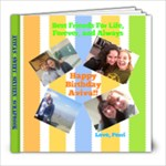 avivas scrapbook - 8x8 Photo Book (20 pages)