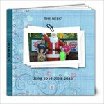 June 2014- June 2015 - 8x8 Photo Book (20 pages)