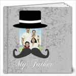 dad, fathers day, boy, man, fun, family, happy - 12x12 Photo Book (20 pages)