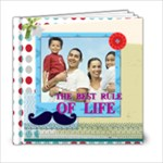 dad, fathers day, boy, man, fun, family, happy - 6x6 Photo Book (20 pages)