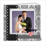 Wedding  Black Book - 6x6 Photo Book (20 pages)